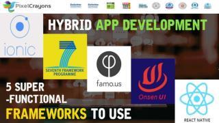 Hybrid App Development Frameworks 2016