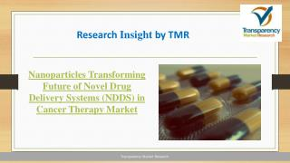 Current Status and Future Scope for Novel Drug Delivery Systems (NDDS) in Cancer Therapy Market