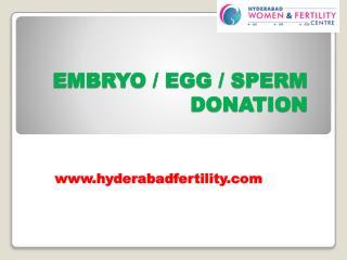 Sperm Donation Center in Hyderabad