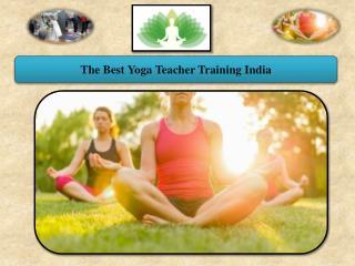 The Best Yoga Teacher Training India