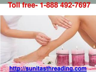 Waxing Threading Salon in California additionally