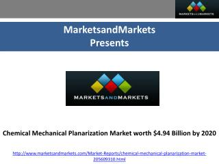 Chemical Mechanical Planarization Market