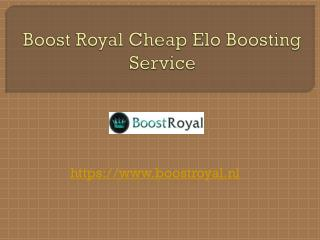 Boost Royal Cheap Elo Boosting Service