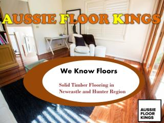 Professional Floor Sanding and Solid Timber Flooring