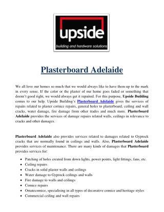 Plasterboard Adelaide