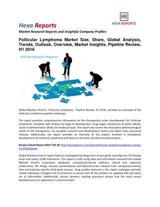Follicular Lymphoma Market Size, Share, Trends and Analysis