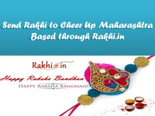 Send Rakhi to Cheer Up Maharashtra Based through Rakhi.in !