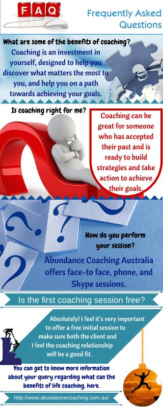 Frequently Asked Questions - Abundance Coaching Australia