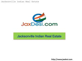 Jacksonville Indian Real Estate