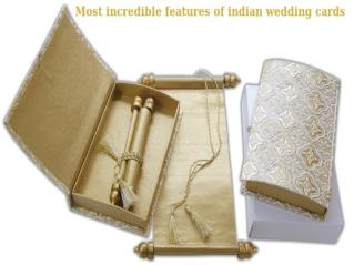Important characteristic of wedding card