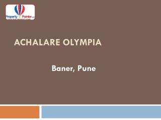 Achalare Olympia by Achalare Realtors - 8888292222