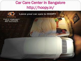 Car Care Center In Bangalore