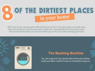 8 of the Dirtiest Places in Your Home