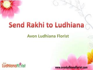 Send Rakhi to Ludhiana