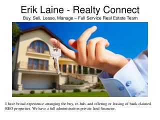 Realty Connect - Full Service Real Estate Team