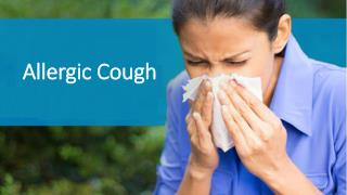 Take some preventive measures to avoid allergic cough
