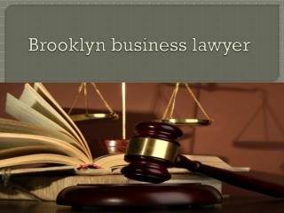 Brooklyn business lawyer