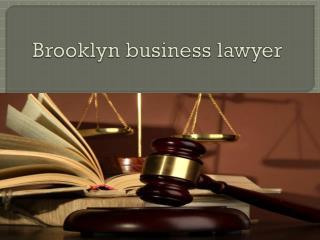Brooklyn business lawyer