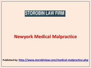Newyork Medical Malpractice