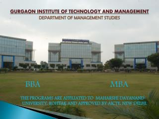 Admissions Open - MBA College in Haryana