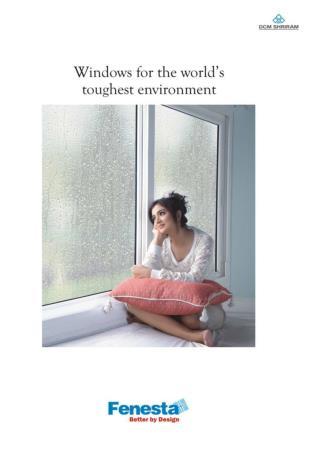 UPVC Doors and Window Manufacturer Company Brochure - Fenesta