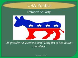 Usa politics News