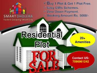 Residential Plots for sale In Dholera