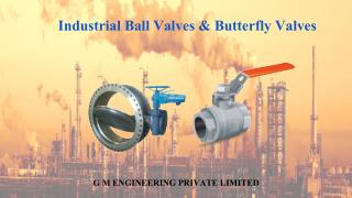 Several common features and advantages of ball and butterfly valves