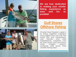 Gulf Shores Deep Sea Fishing