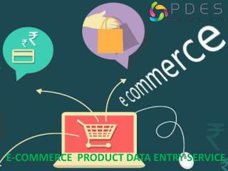 E-Commerce product data entry outsourcing services