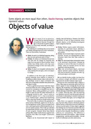 Objects of Value