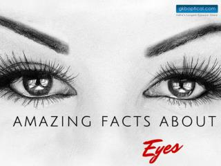 Amazing Facts About Human Eyes