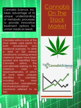 Cannabis Companies Stock Market