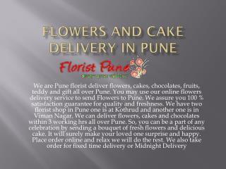 Flowers and Cake Delivery in Pune