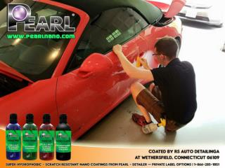 Be sure that your luxury car is protected with pearl nano coating.
