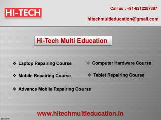 Mobile, Laptop, Computer Repairing Course in Laxmi Nagrar, Delhi