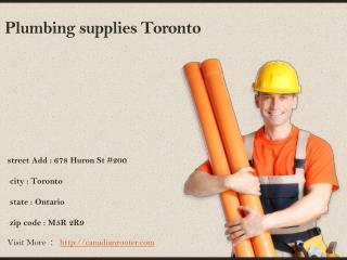 Plumber Toronto - Canadian   Rooter