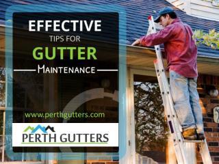 Tips for Effective Gutter Maintenance