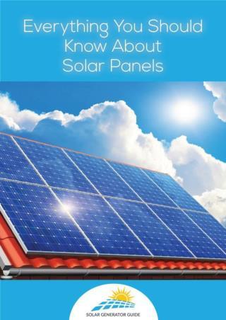 Visit Solar Generator Guide