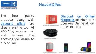 Online Discount Coupons and Top Offers For Online Shopping