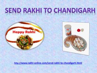 amaze your Brother by sending online Rakhi to chandigarh