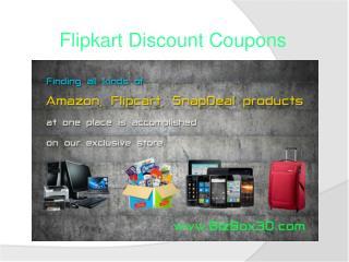 Flipkart discount coupons