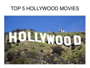 top 5 movies of the  hollywood in which the collection of the movies are mentioned, name of the directors and release da
