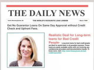 Apply for Bad Credit Loans and Get Instant Decision