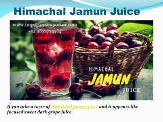 Himachal Jamun Juice