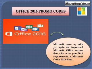 Promo Codes for Office 365 - Get great discounts