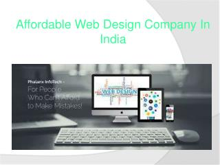 affordable web design company in india
