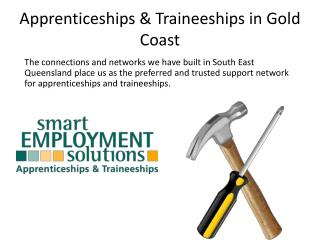 Apprenticeships & Traineeships in Gold Coast