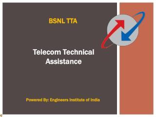 BSNL TTA Exam Coaching In Delhi - EII