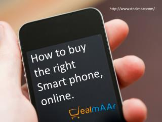 Buy Mobile Phones Online - dealmaar